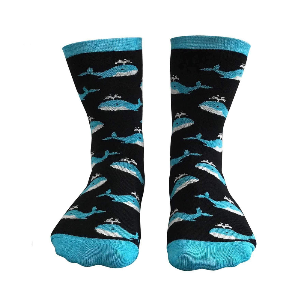 Whale of a Time Bamboo Fibre Unisex Socks | Socks | The Design Store NZ