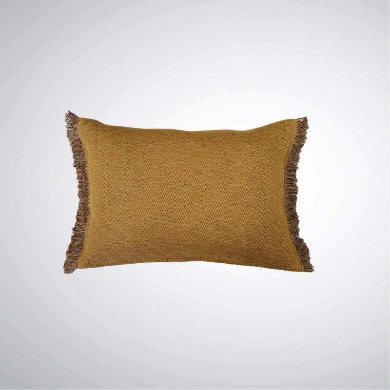 Ethan Cushion Ochre | Cushions | The Design Store NZ