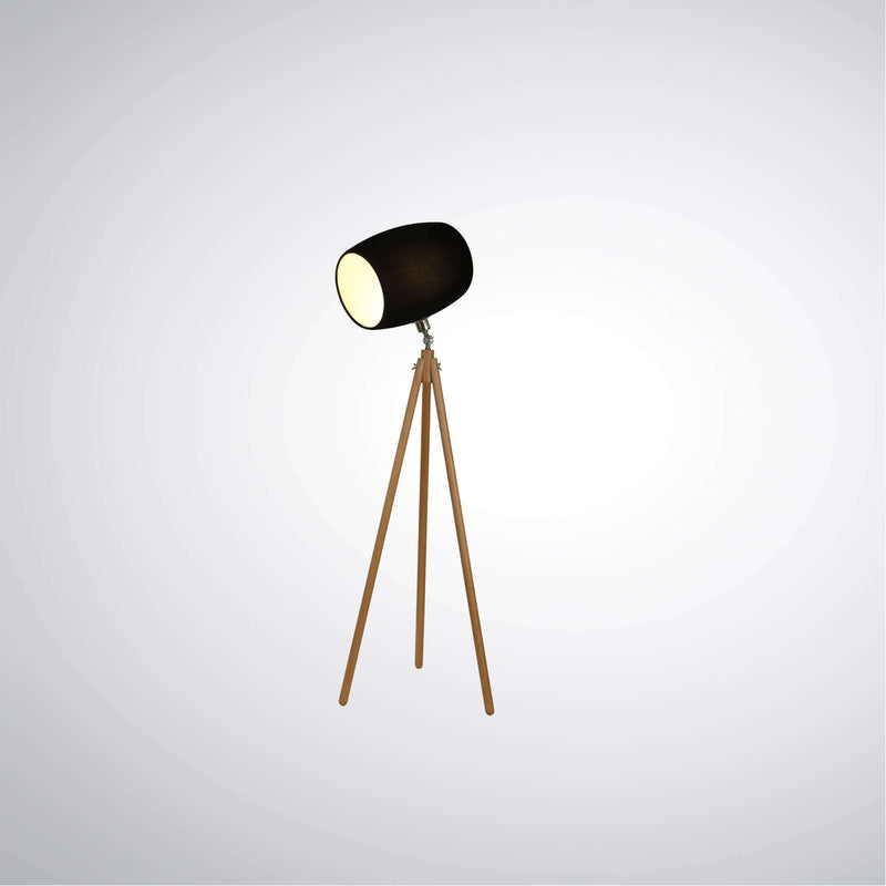 Kent Floor Lamp Black | Floor Lamps | The Design Store NZ