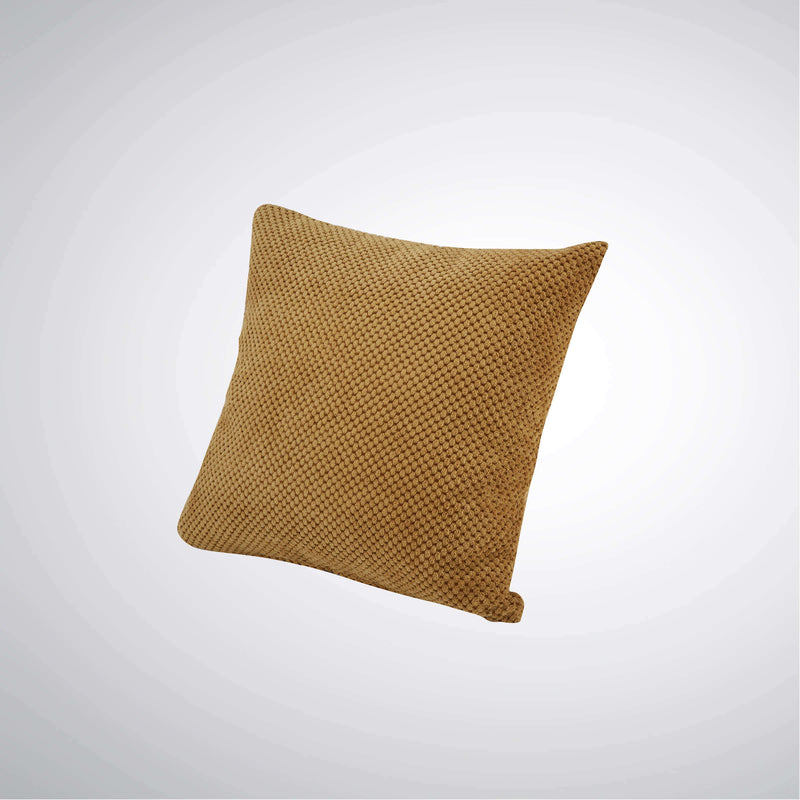 Lancaster Cushion Dimpled Yellow | Cushions | The Design Store NZ
