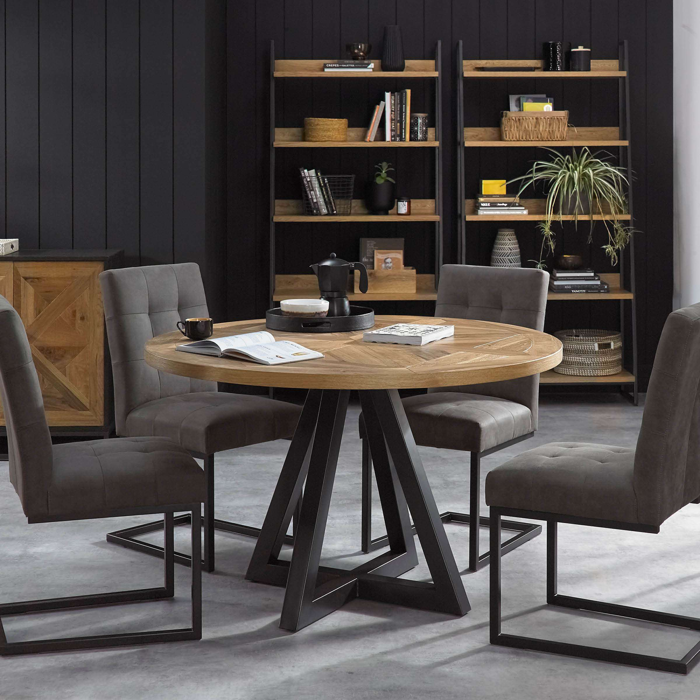 Picture of: Marbella Round Dining Table Furniture The Design Store Nz