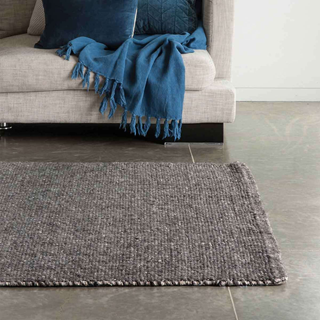 Nebraska Charcoal Rug 200x300cm | Rugs and Mats | The Design Store NZ