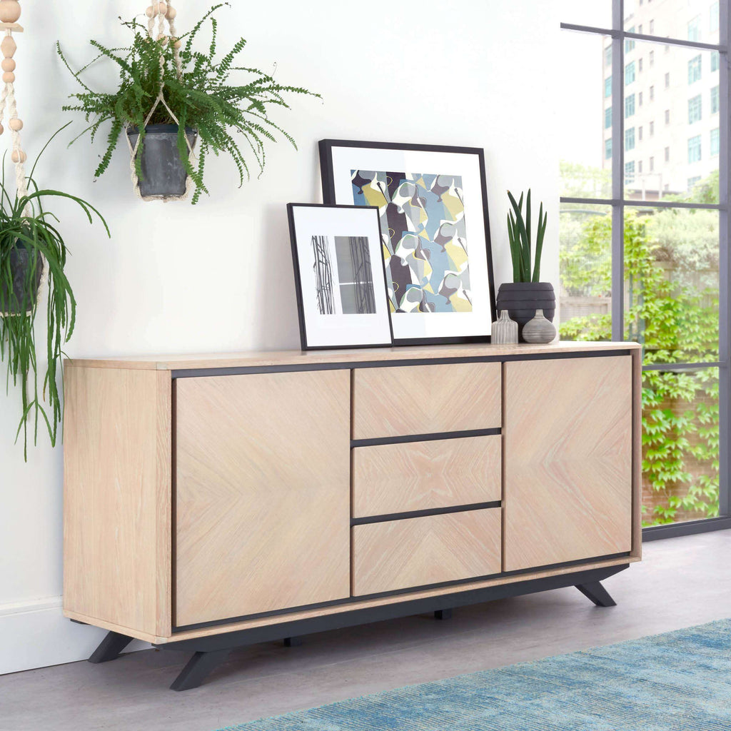 Serrato Wide Sideboard | Sideboards | The Design Store NZ