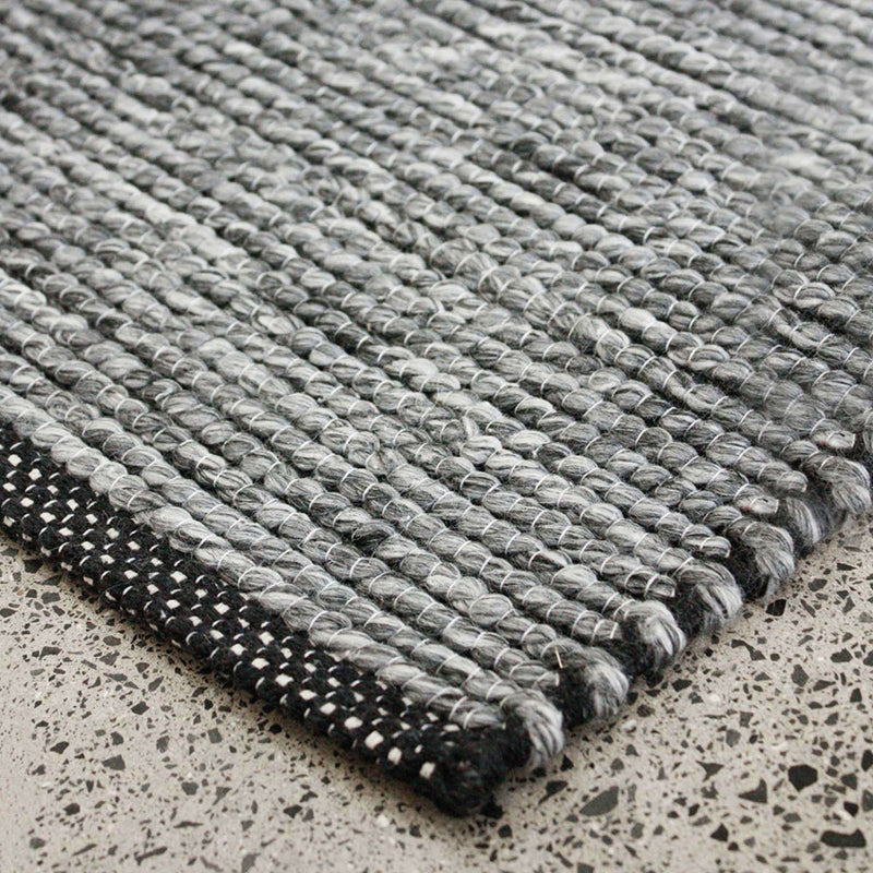 Shetland Rug - Schist Grey 160x230cm | Rugs and Mats | The Design Store NZ