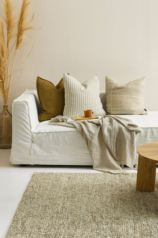 Spencer Cushion with Feather Inner | Cushions | The Design Store NZ
