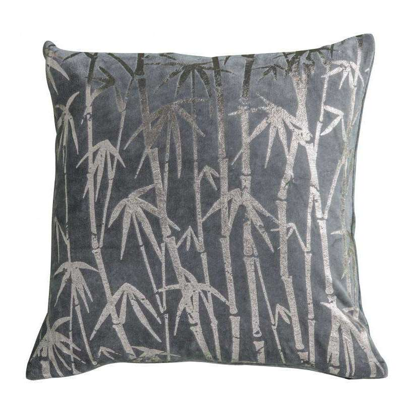 Bamboo Palm Metallic Cushion | Cushions | The Design Store NZ