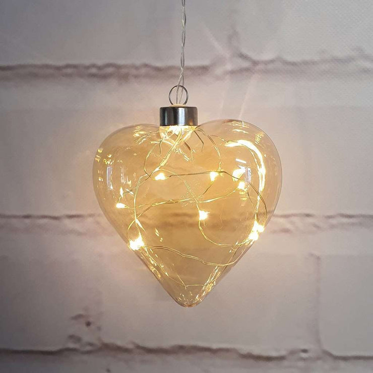 Champagne Hanging Glass Light - The Design Store NZ