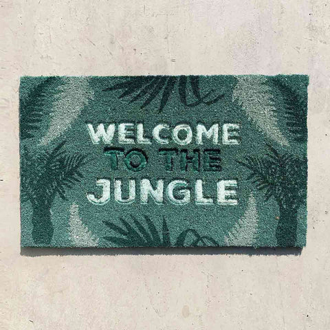 Coir Mat Welcome to the Jungle | Doormats | The Design Store NZ