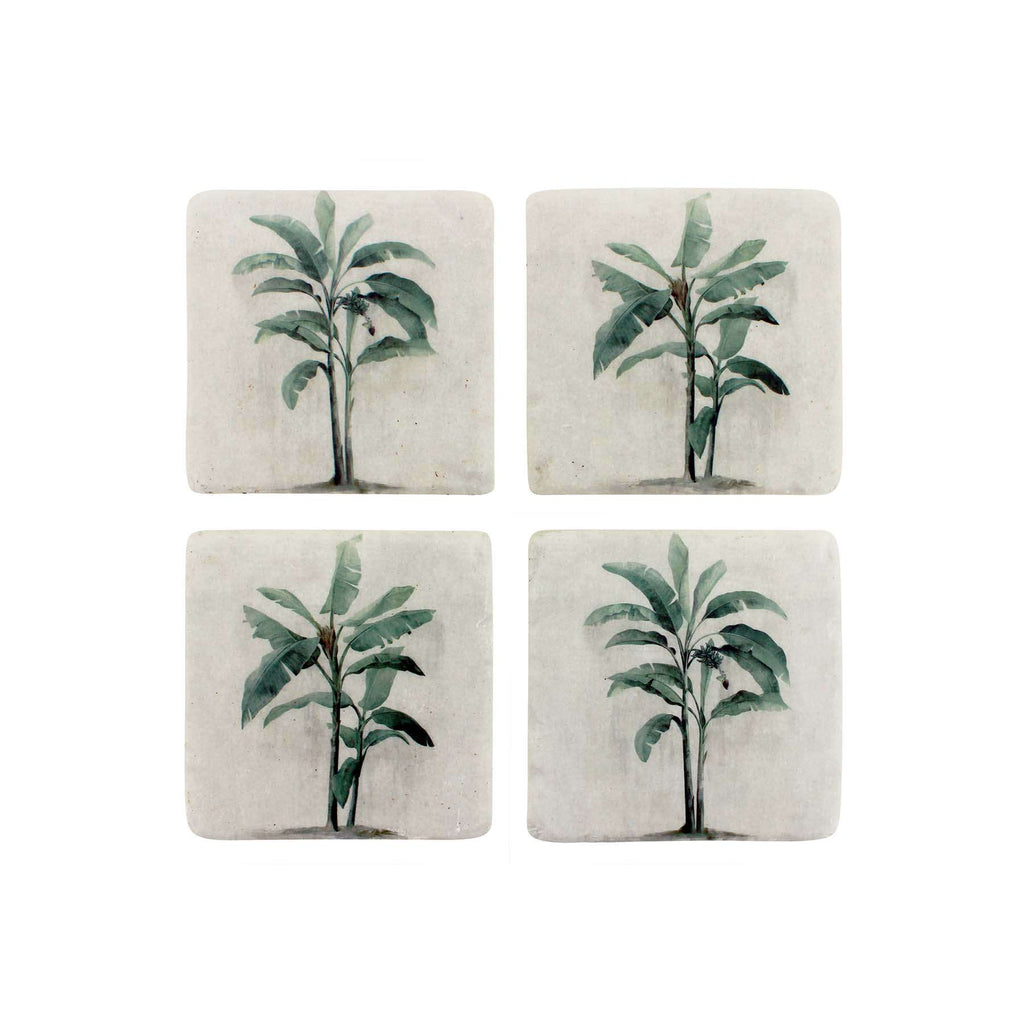 Colonial Resin Coaster S/4 | Coasters | The Design Store NZ