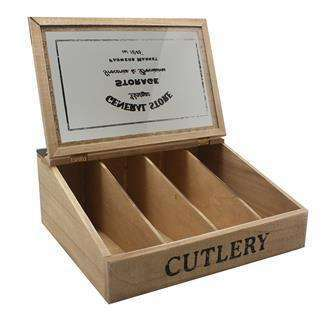 Cutlery Tray General Store Natural Wood | Cutlery | The Design Store NZ