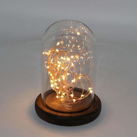 Dome LED String Lights Gold | Lighting | The Design Store NZ