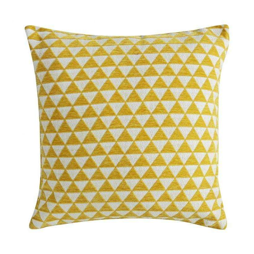Jacquard Triangles Cushion | Cushions | The Design Store NZ