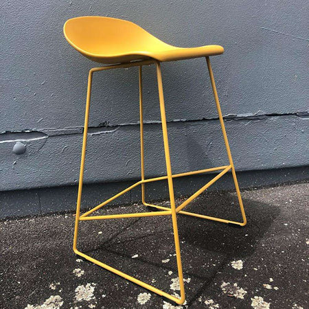 Lyon Barstool Mustard | Barstools | The Design Store NZ
