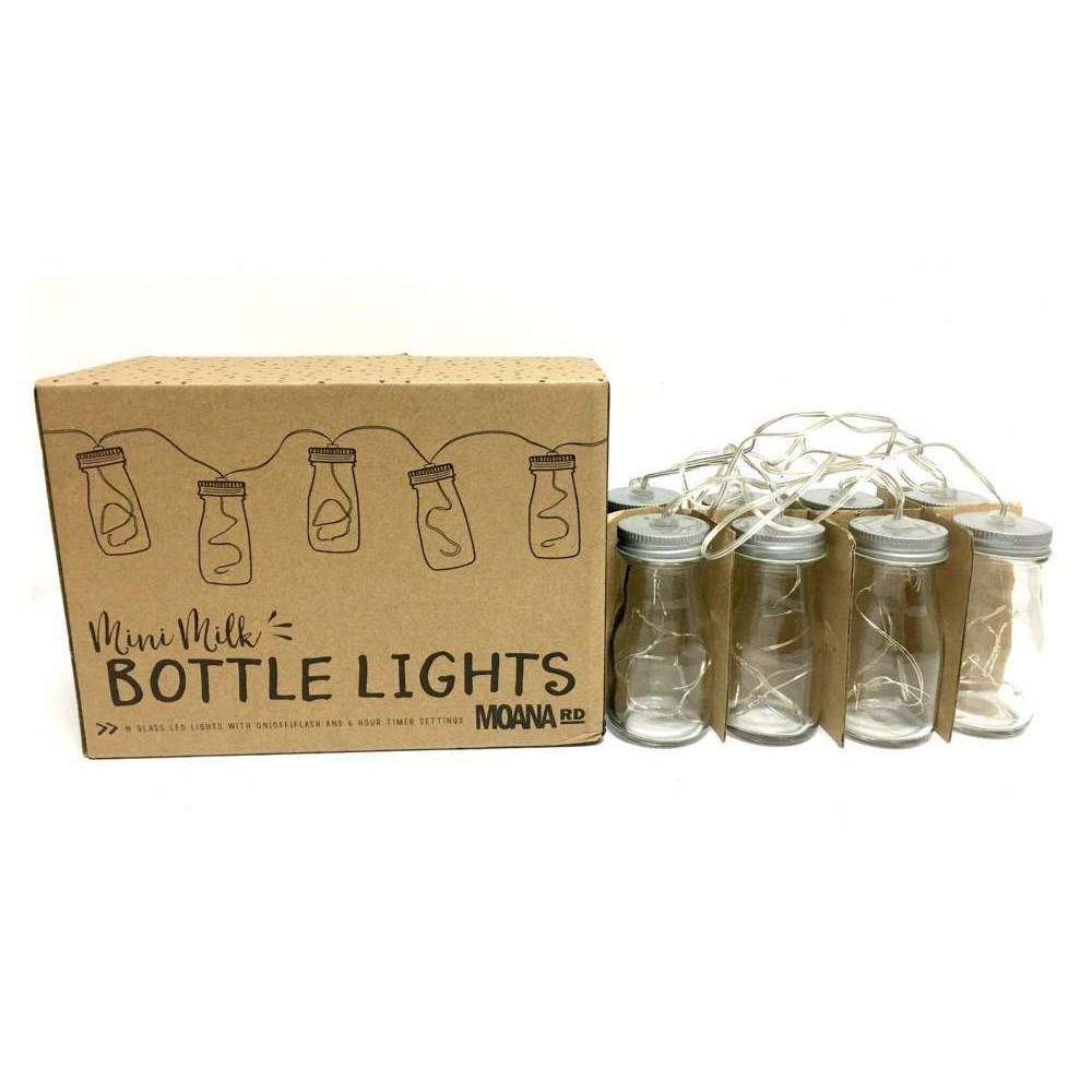 Mini Milk Bottle Lights | MoanaSaleDropShip | The Design Store NZ