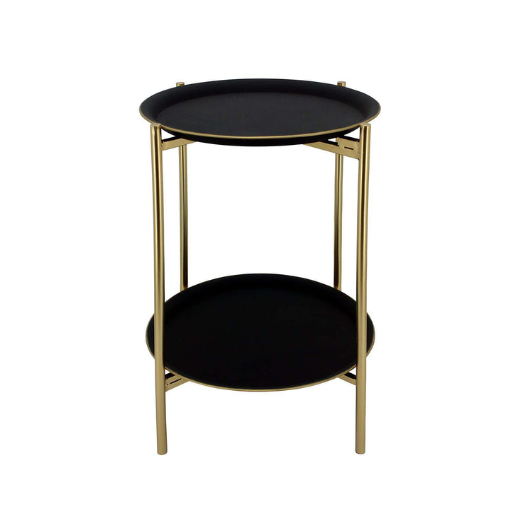 Oralie Gold Side Table - The Design Store NZ