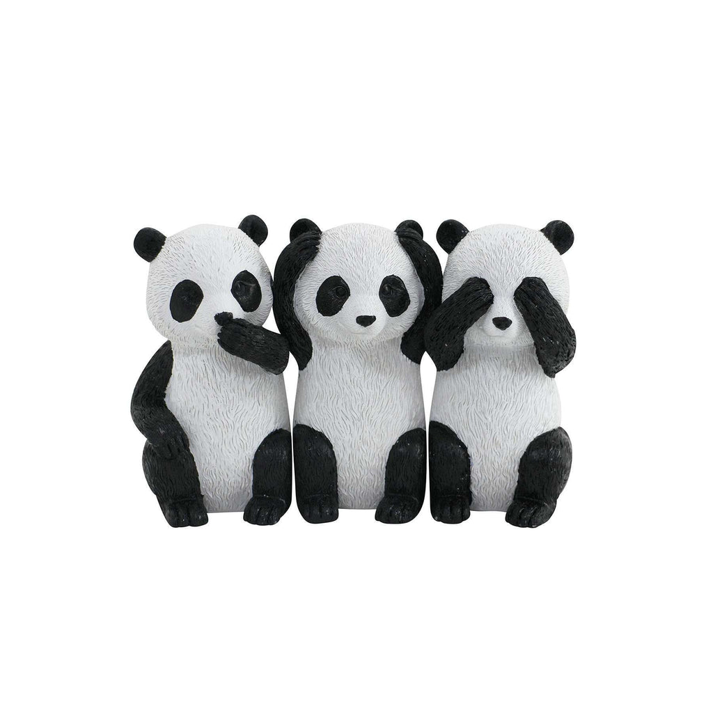 Panda Sculpture S/3 | Sculptures | The Design Store NZ