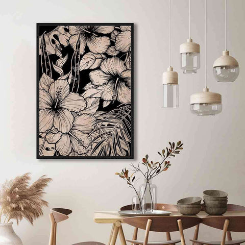 PRE ORDER Black Jungle | Wall Art | The Design Store NZ