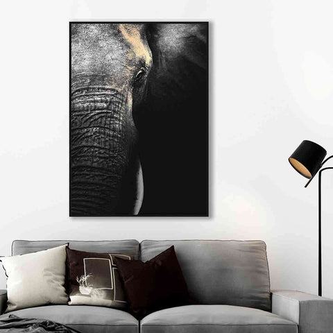 PRE ORDER Elephant Half | Wall Art | The Design Store NZ