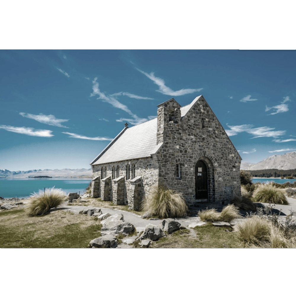 Glass Art Church of the Good Shepherd V2 | Wall Art | The Design Store NZ