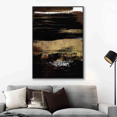 Gold Oil | Wall Art | The Design Store NZ
