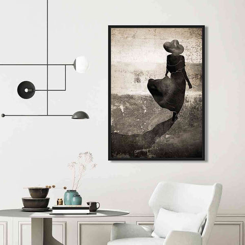 PRE ORDER Lady In Shadow | Wall Art | The Design Store NZ