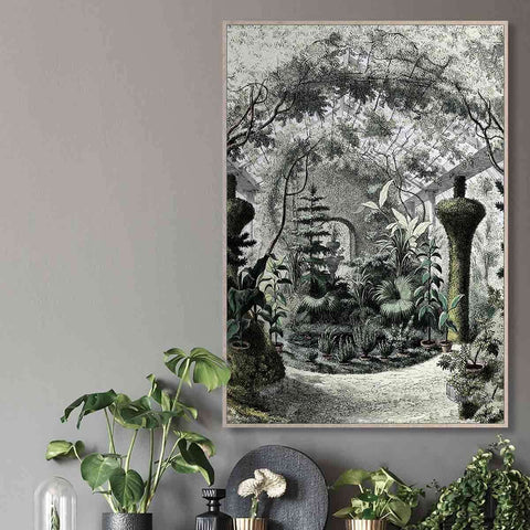 PRE ORDER Sketched Garden | Wall Art | The Design Store NZ