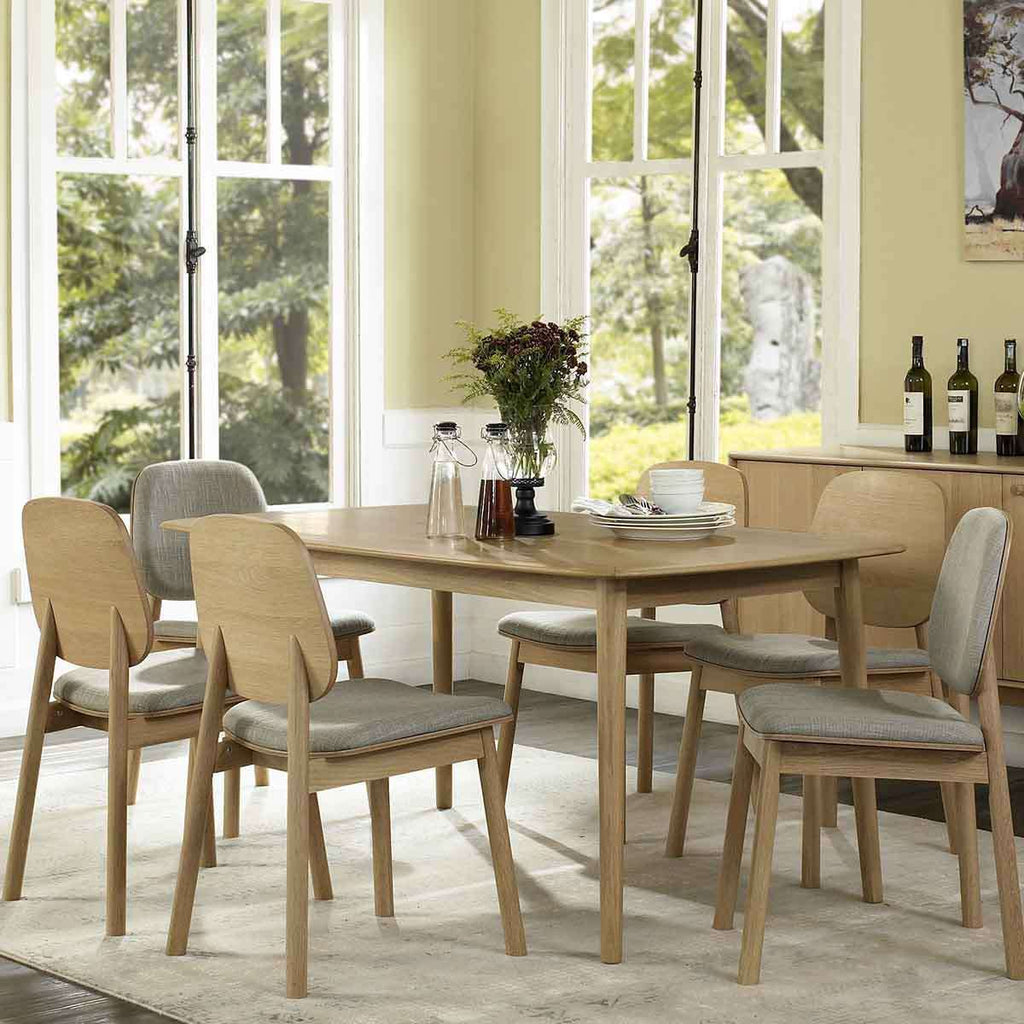 PRE ORDER Toledo Dining Table 4 Seater | Dining Tables | The Design Store NZ