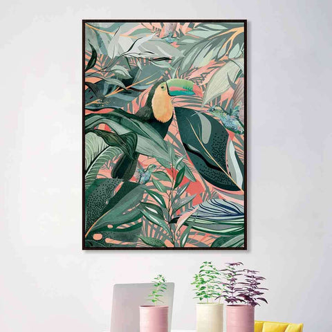 PRE ORDER Toucan Hummingbirds | Wall Art | The Design Store NZ