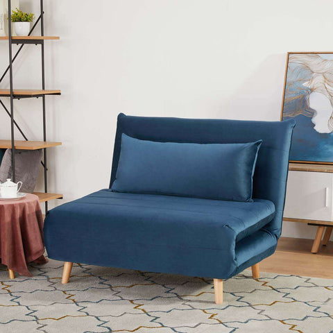 York Chair Sofa Bed Ocean Blue | Sofa Beds | The Design Store NZ