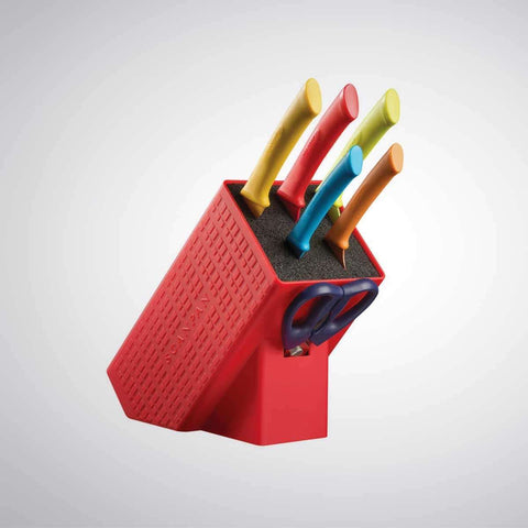 Scanpan Spectrum 7 Piece Block | Knife Sets | The Design Store NZ