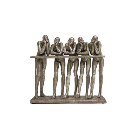 Thinking Men 28cm | Sculptures | The Design Store NZ