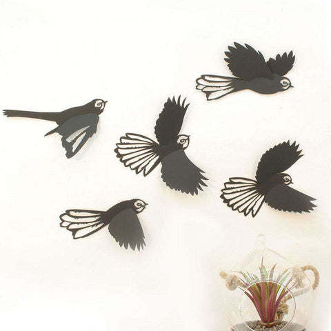 3D Fantail In Flight | Wall Art | The Design Store NZ
