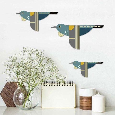 Wall Art Folk Tuis S/3 | Wall Art | The Design Store NZ