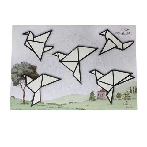Wall Art Origami Birds | Wall Art | The Design Store NZ