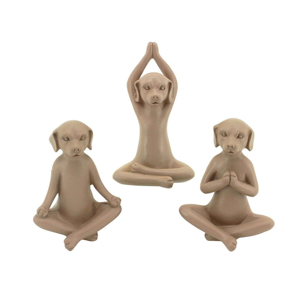 Yoga Dogs S/3 - The Design Store NZ