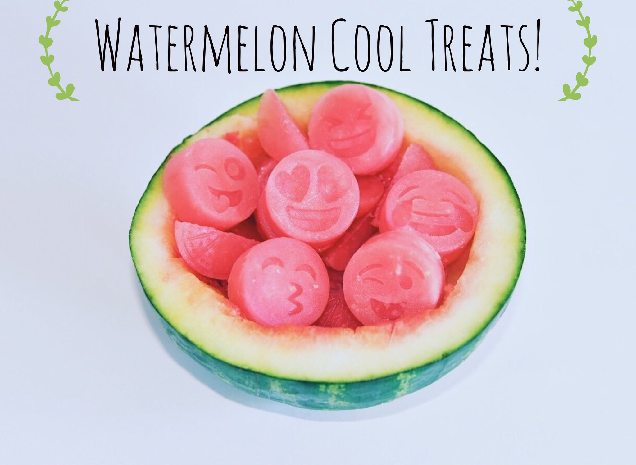 Cool Treats for Dogs: Watermelon Ice Cubes
