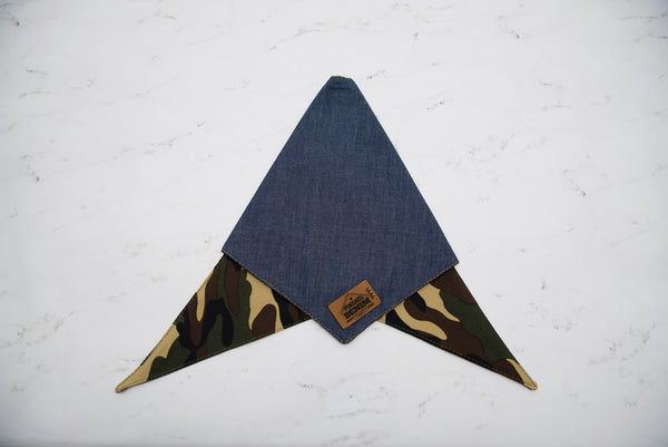Camouflage Double Sided Bandana by Pinzael