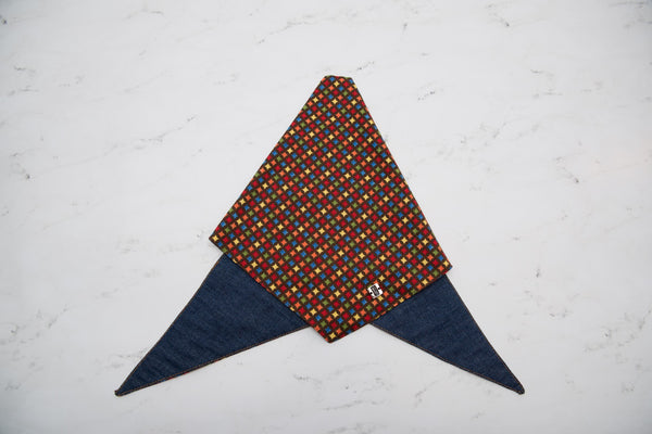 Colorful Patron Double Sided Bandana by Pinzael