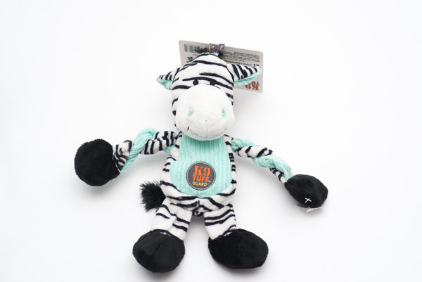 Pulleez Zebra Toy by Charming Pet