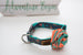 Collars - Dog Collars - Mint Rose Collar | LuxyPaws Pet Boutique