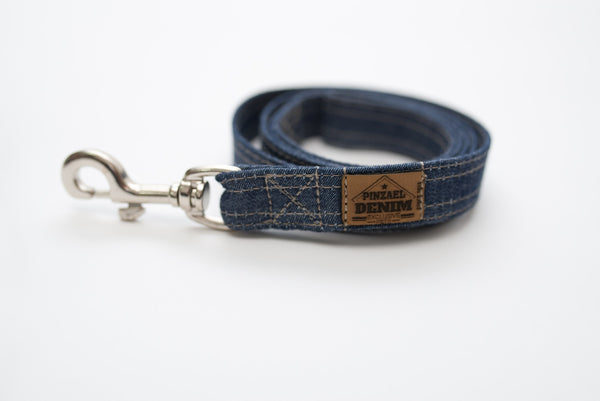 Leashes - Training Leashes - Denim Leash | LuxyPaws Pet Boutique