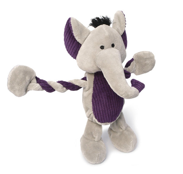 Toys - Dog Toys - Pulleez Elephant Toy by Charming Pett | LuxyPaws Pet Boutique