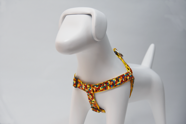 Harnesses - Dog Harness - Confetti Harness by Pinzael | LuxyPaws Pet Boutique
