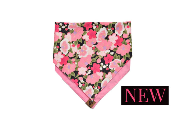 Sweet Garden Double Sided Bandana by LuxyPaws