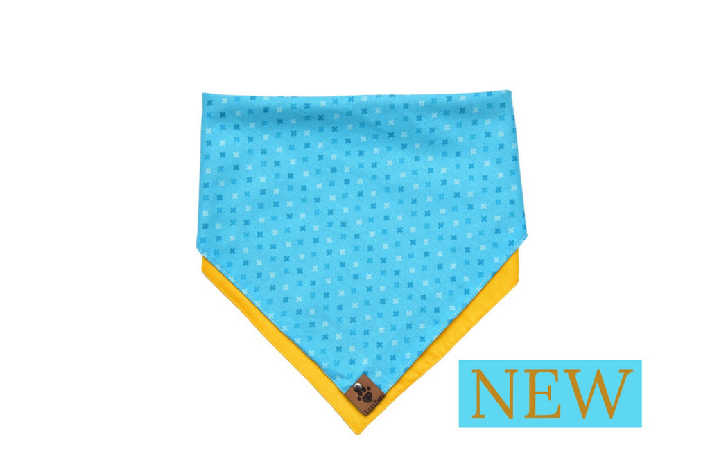 Sea & Soleil Double Sided Bandana by LuxyPaws