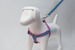 Harnesses - Dog Harness -  Polka Love Pink Harness by Pinzael | LuxyPaws Pet Boutique