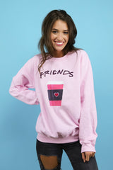best friends coffee crew neck