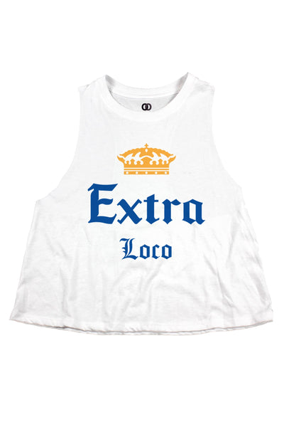 Extra Loco Cropped Tank
