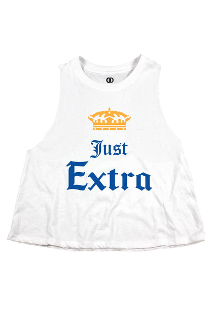 Just Extra Cropped Tank