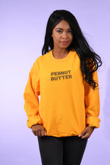 peanut butter crew neck